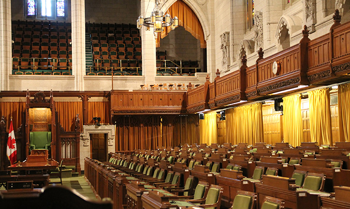 Inside Canada's House of Commons