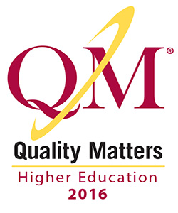 QM higher education 2016 logo
